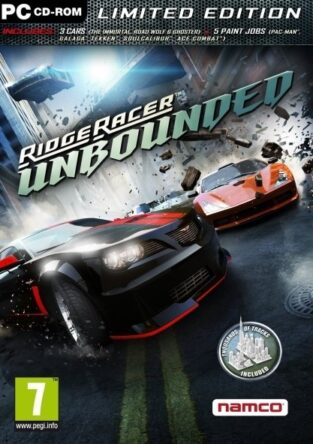 Ridge Racer Unbounded Limted Edition_FP