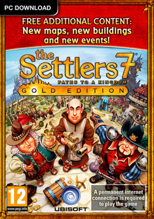 The Settlers 7 Paths to a Kingdom Gold Edition_FP