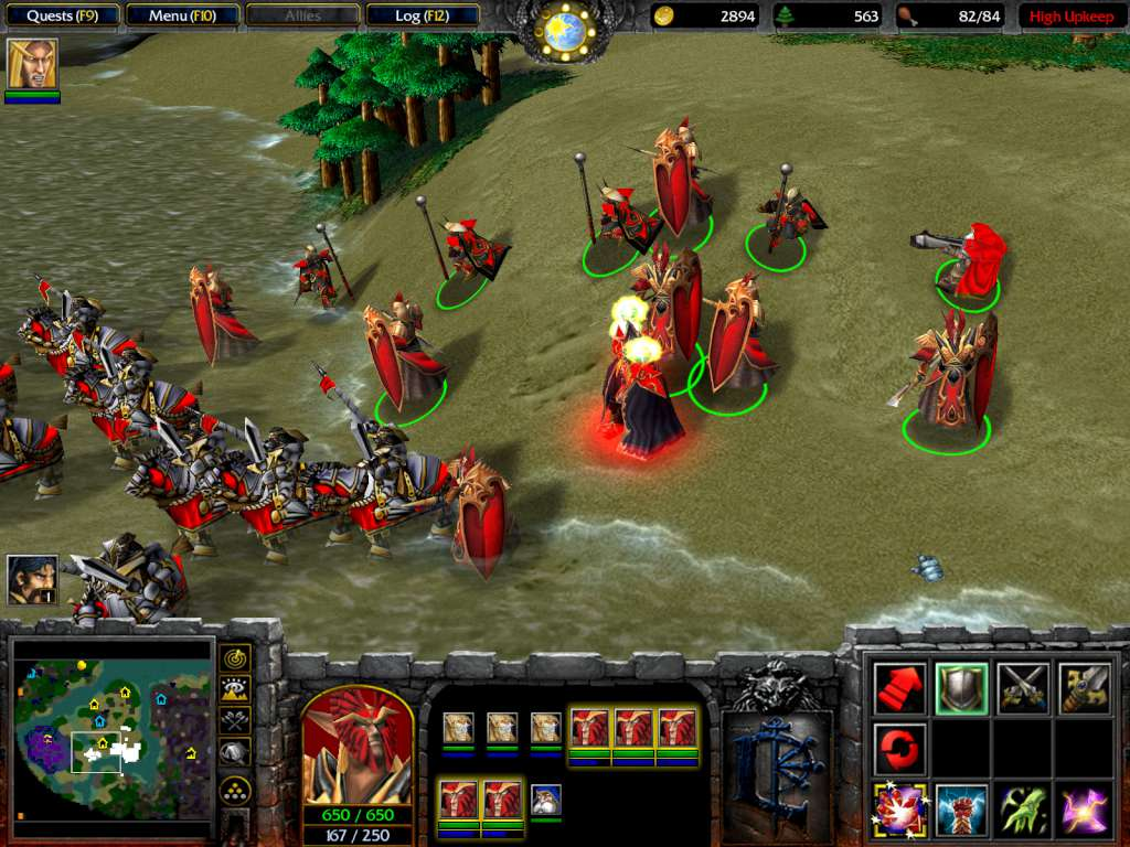 Warcraft 3: Gold Edition (Inc  The Frozen Throne Expansion)